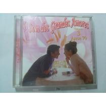 Cd O Som Dos Grandes Amores Vol 3 (original) Frete R$ 8,00
