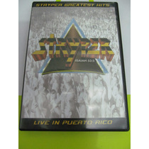 Dvd Stryper - Live In Puerto Rico - 1ªedição - Novo - Raro