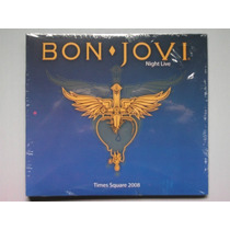 Bon Jovi Times Square Night Live 2008 Cd Raro Novo Lacrado!!