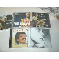 Cd Ivan Lins,djavan,zecabaleiro,adriana Calcanhoto,g.arantes