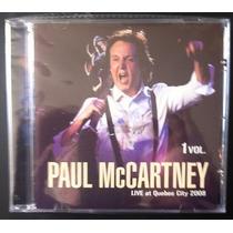 Cd Paul Mccartney Live In Quebec Duplo - Frete Grátis