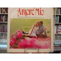 Lp Amore Mio - 14 Sucessos Originais Da Música Italiana