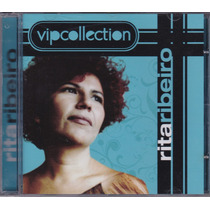 Rita Ribeiro - Cd Vip Collection - Novo - Raro