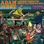 Cd Adam West Longshot Songs Broke Players Importado Hard Roc