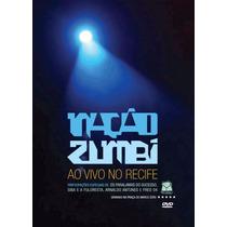 Nação Zumbi - Ao Vivo No Recife - Seminovo Excelente Estado