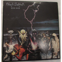 Lp Vinil Black Sabbath - Live Evil 1983 Ao Vivo Duplo Raro!