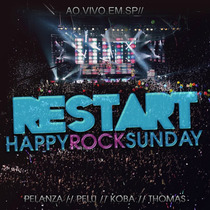 Cd Restart Happy Rock Sunday Ao Vivo Em São Paulo