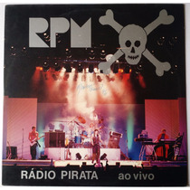 Lp Rpm - Rádio Pirata Ao Vivo - 1986 - Encarte
