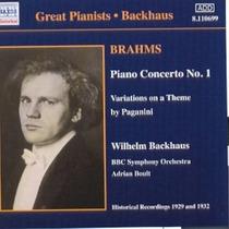 Cd Brahms Bbc Sym Backhaus - Piano Concerto N 1