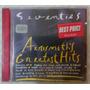 Cd Aerosmith- Seventies- Greatest Hits (original) - Raridade