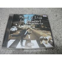 Cd - Paul Maccartney Paul Is Live In Concert