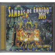 Cd Sambas De Enredo 2015 - Rio De Janeiro (lacrado)