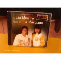João Mineiro & Marciano - Vol. 2 - Cd Excelente Estado