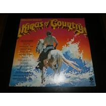 Lp Kings Of Country, Vários Cantores, Disco Vinil, Ano 1981