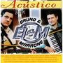 Bruno E Marrone - Acústico (cd Novo E Lacrado)
