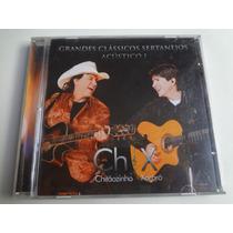 Cd Chitãozinho E Xororo Classicos Sertanejos Acustico Vol.1