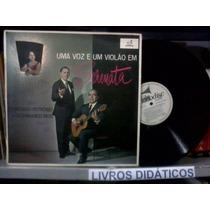 Lp - Fco Petrônio - Uma Voz E Um Violão Em Serenata - 1962
