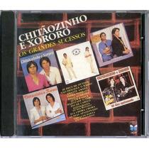 Cd Chitãozinho E Xororó - Os Grandes Sucessos - 1987