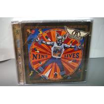 Cd Aerosmith - Nine Lives - Novo Lacrado Nacional