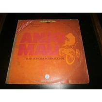 Lp Trilha Sonora Internacional Anjo Mau, Disco Vinil, 1976