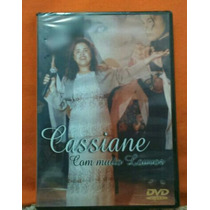 Dvd Cassiane Com Muito Louvor