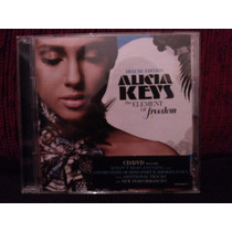 Cd+dvd Alicia Keys The Element Of Freendom Deluxe Novo