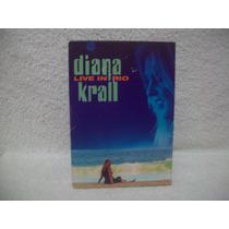 Dvd Original Diana Krall- Live In Rio- Lacrado De Fábrica