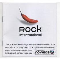Cd Rock Internacional - O Melhor Das Novelas - Scorpions