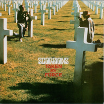 Lp Scorpions - Taken By Force (japonês)