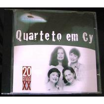 Cd Quarteto Em Cy As 20 Melhores - Original Novo