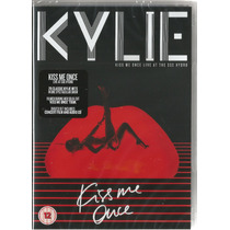 Dvd+2cds Kylie Minogue Kiss Me Once - Live At The Sse Hydro