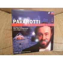 Laserdisc Ld Pavarotti In Central Park C/encarte