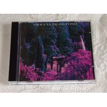 Cd Violeta De Outono Plug 1995 Nacional