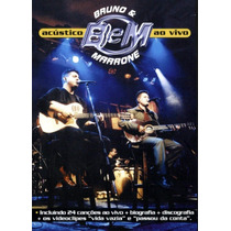 Dvd Bruno E Marrone - Acustico Ao Vivo (926815)