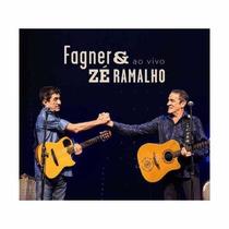 Fagner E Zé Ramalho Ao Vivo * Cd Original * Frete Grátis Br
