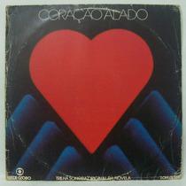 Lp Novela Coraçao Alado - Nacional - Som Livre - 1980 Novo