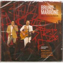 Cd Bruno E Marrone - Pela Porta Da Frente - Novo***