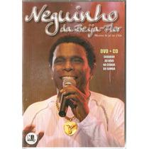 Dvd+cd Neguinho Da Beija Flor Menino Do Pé No Chão Lacrado