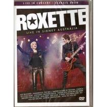 Roxette - Live In Sidney Austrlia Dvd Nacional Novo Lacrado
