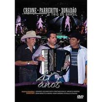 Dvd O Trio Do Brasil 40 Anos Orig. (antigo Trio Parada Dura)