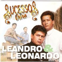 Cd Duplo Leandro & Leonardo - Sucessos De Ouro - Semi Novo**