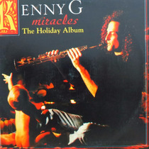 Lp Kenny G Miracles The Holiday Album Vinil Raro