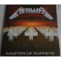 Metallica Master Of Puppets Lp Selado Made Europe Blackened
