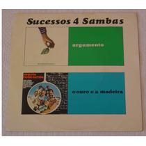 Sucessos 4 Sambas 1975 Argumento Ouro E A Mad Compacto Pfr9