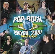Cd Pop Rock Brasil 2001 Amigo Da Água - Ao Vivo