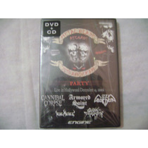 Dvd + Cd Metal Blade 20th Aniversario Varias Bandas