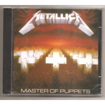 Metallica - Master Of Puppets (megadeth Anthrax, Dio Slayer)