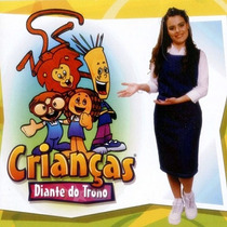 Cd Crianças Diante Do Trono - Vol 1 * Original