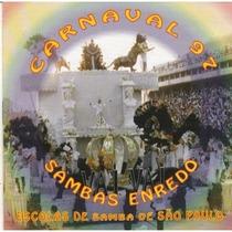 Cd - Sambas De Enredo De São Paulo - Carnaval 1997