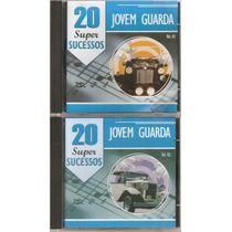 3 Cds Jovem Guarda - 20 Super Sucessos Volumes 1, 2 E 3